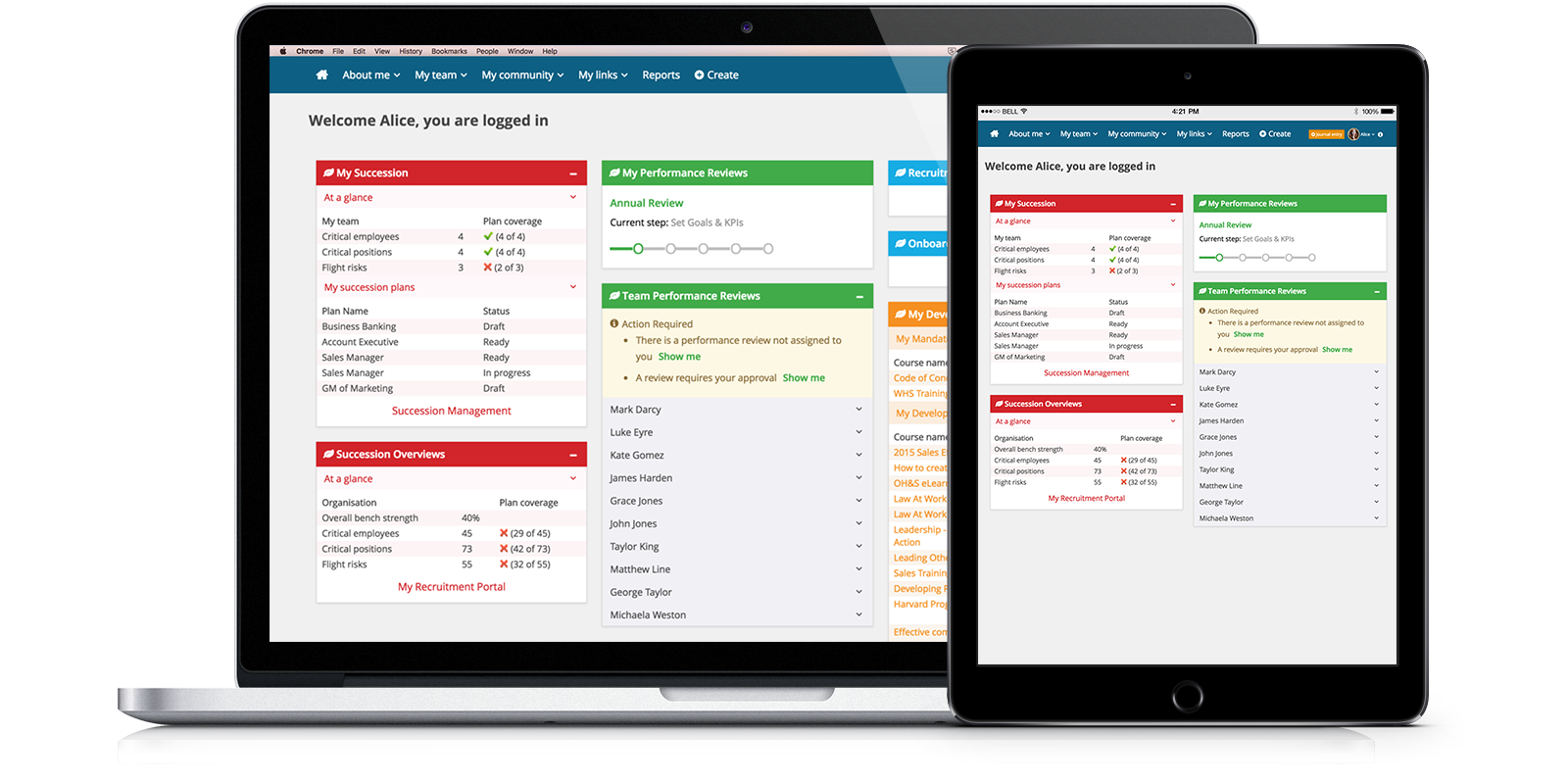 Succession Planning Tools Software Pageup
