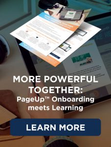 PageUp Onboarding meets Learning